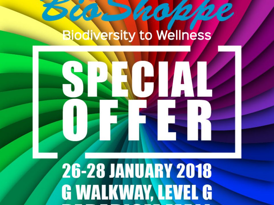 bioshoppe @ paradigm mall poster