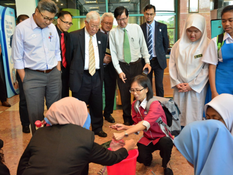 Minister MESTR tour MSN 2018 Sarawak